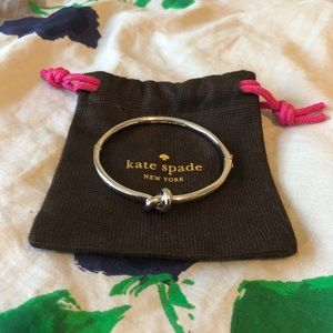 Kate spade knot bangle